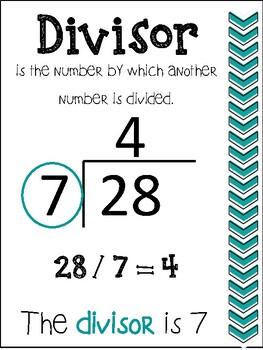 what is divisor dividend quotient pdf