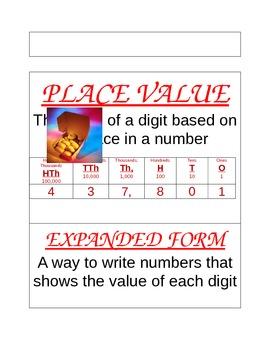 Math Vocabulary