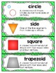 Math Vocabulary {1st Grade Printables}