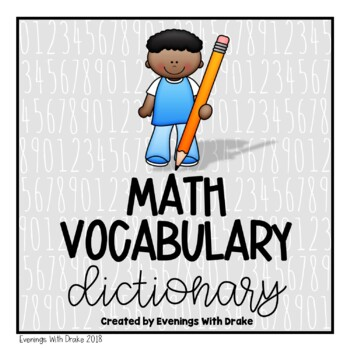 Math Vocabulary Personal Dictionary