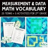 Math Vocabulary Activities for 2nd Grade - Measurement & Data