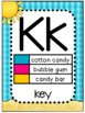 Math Vocabulary Alphabet and Number Posters1st Grade Beach
