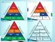 Interactive Math VOCABULARY Pyramid!!Smart Board Ready