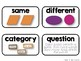 Math Vocabulary Cards {1st Grade}