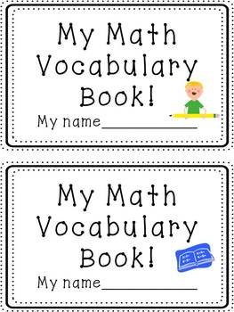 Math Vocabulary Cards BRIGHT COLORS {Grade 3 Common Core}