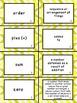 Math Vocabulary Cards - Go Math