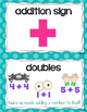 Math Vocabulary Cards {Grade 1}
