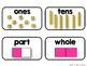 Math Vocabulary Cards {Kindergarten}