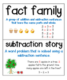 Math Vocabulary Cards: Math In Focus: Grade 1: Chapter 4