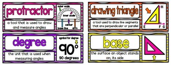 Math Vocabulary Cards- aligned to Grade 4 Math In Focus Chapter 10