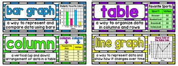 Math Vocabulary Cards Aligned to 4th Grade Math in Focus ~ Chapter 4