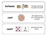 Math Vocabulary Cards for NWEA RIT 171-180