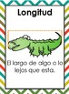 """Math Vocabulary Cards in Spanish """"2nd grade"""""""