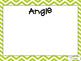 Math Vocabulary Engagement Charts Unit 5