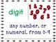 Math Vocabulary -  Entire Year Bundle!