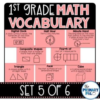 Math Vocabulary: Eureka Module 5