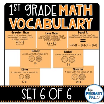 Math Vocabulary: Eureka Module 6