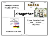 Math Vocabulary First Grade EDM Unit 5