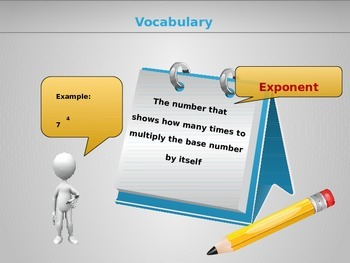 Math Vocabulary Flashcards/Automatic Powerpoint