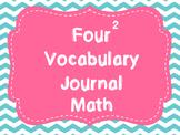 Math Vocabulary Four Square