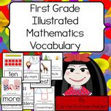 Math Vocabulary Word Wall Grade 1