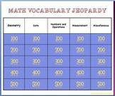 Math Vocabulary Jeopardy