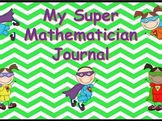 Math Vocabulary Journal-Super Mathmatician
