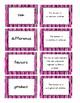 Math Vocabulary Matching Cards 4th Grade