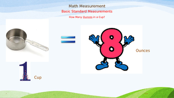 Math Vocabulary - Measurements