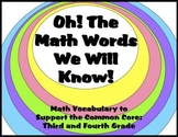 Math Vocabulary Mega Pack