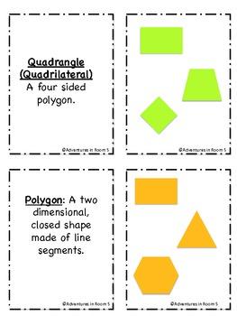 Math Vocabulary Pack (Geometry)