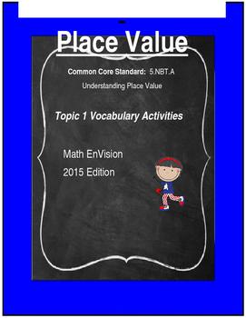 Math Vocabulary--Place Value