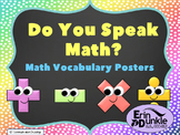 Math Vocabulary Posters