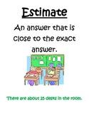 Math Vocabulary Posters 4th Grade