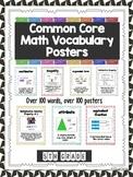 Math Vocabulary Posters (Common Core 5th Grade)
