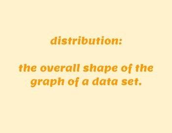 Math Vocabulary Posters: Data Display and Variability /Statistics