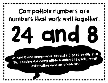 Math Vocabulary Posters (Numbers & Operations)