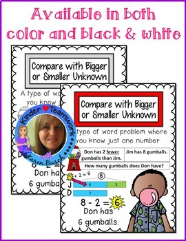 Math Vocabulary Posters for Engage New York First Grade Module 6