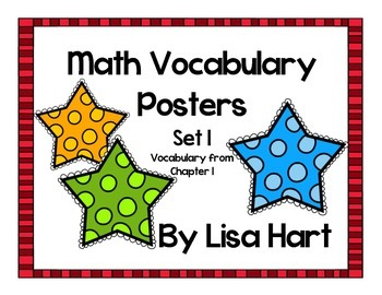 Math in Focus Vocabulary Set 1