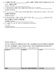 Math Vocabulary Study Guide and Quiz: Divison and Ratios