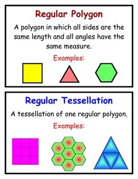 Math Vocabulary Word Wall Cards, Group 3, Everyday Mathematics