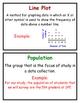 Math Vocabulary Word Wall Cards, Group 6, Everyday Mathematics