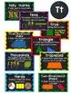 Math Vocabulary Word Wall - Grades 1 and 2