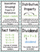 Math Vocabulary Word Wall *Multiplication & Division* #FINALLYFALL $1