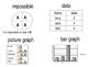 Math Vocabulary Word Wall Statistics PK - 2nd Grade