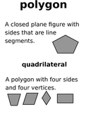 Math Vocabulary Word Wall - Geometry