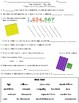 Math Vocabulary Worksheets and Assessments BUNDLE