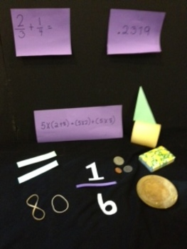 Math Vocabulary and Concepts Game