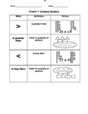 First Grade- Go Math!- Math Vocabulary- Chapters 1-12