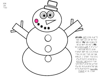 Math Vocabulary for the Winter Holiday